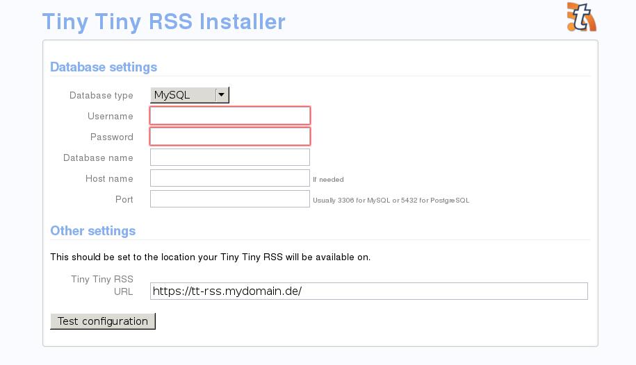ttrss-installer